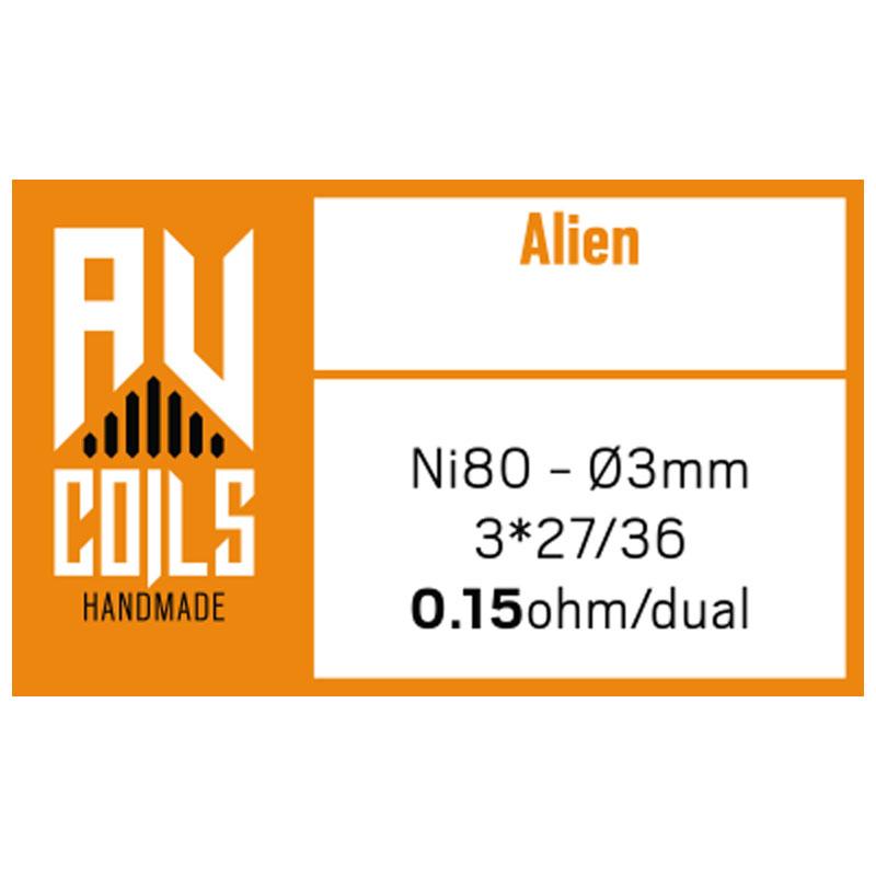 AV Coil - Alien Orange