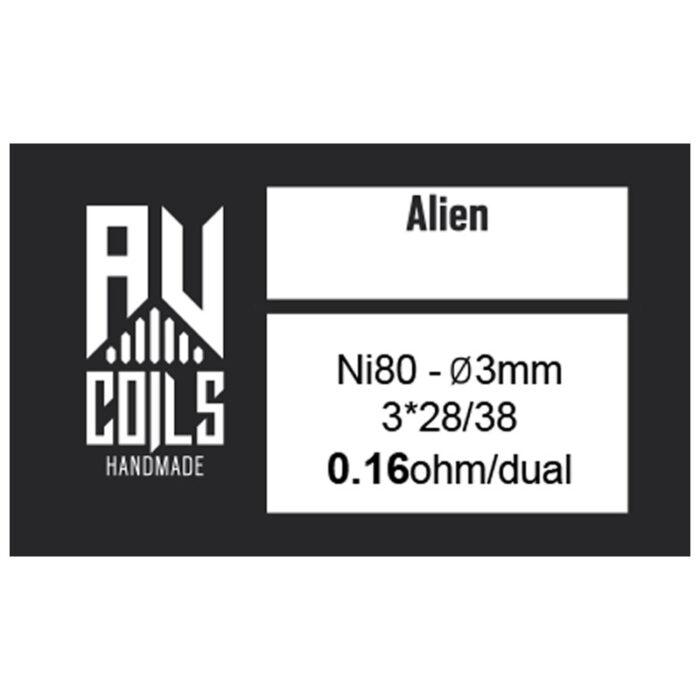 AV Coils - Alien Black