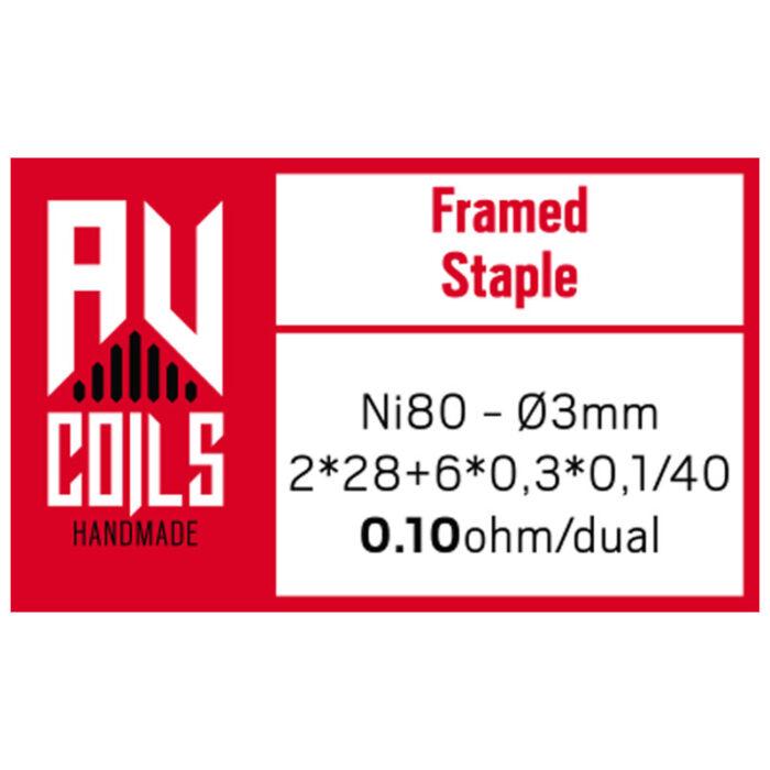 AV Coils - Framed Staple 1