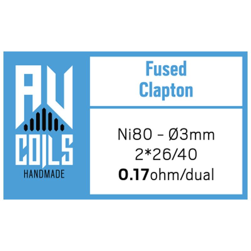 AV Coils - Fused Clapton 1
