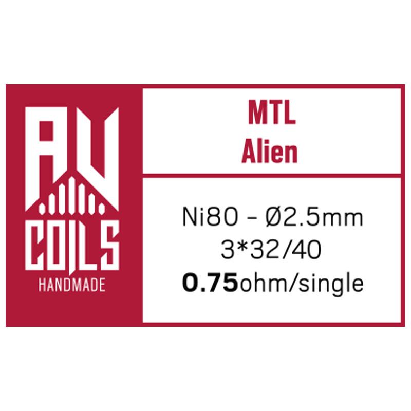 AV Coils - MTL Alien