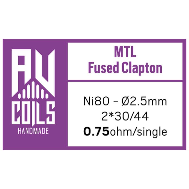 AV Coils - MTL Fused Clapton 1