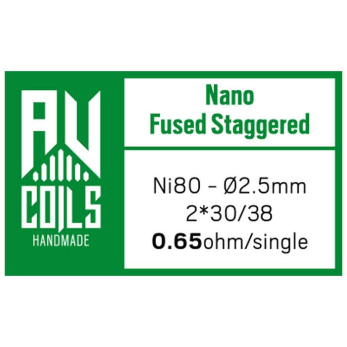 AV Coils - Nano Fused Staggered 1