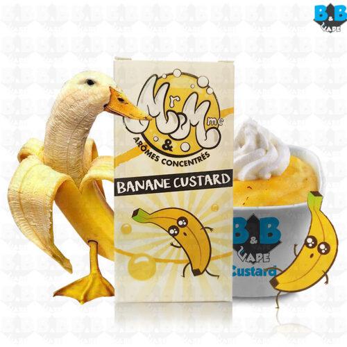 Mr & Mme - Banana Custard