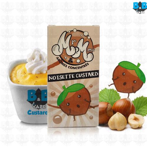 Mr & Mme - Hazelnut Custard