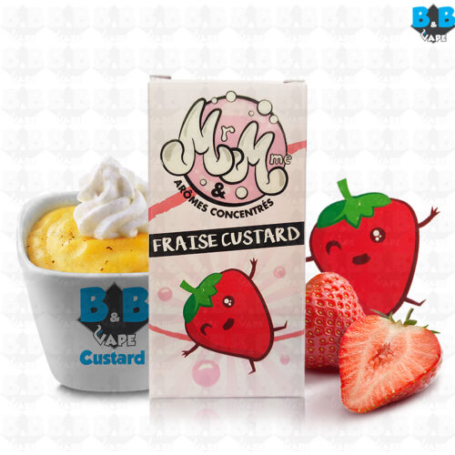 Mr & Mme - Strawberry Custard