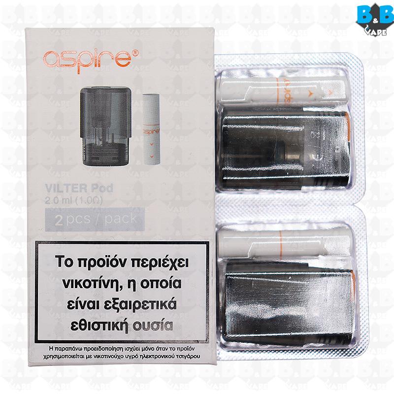 Aspire - Vilter Pod Mesh Coil 1.0 Ohm Pack